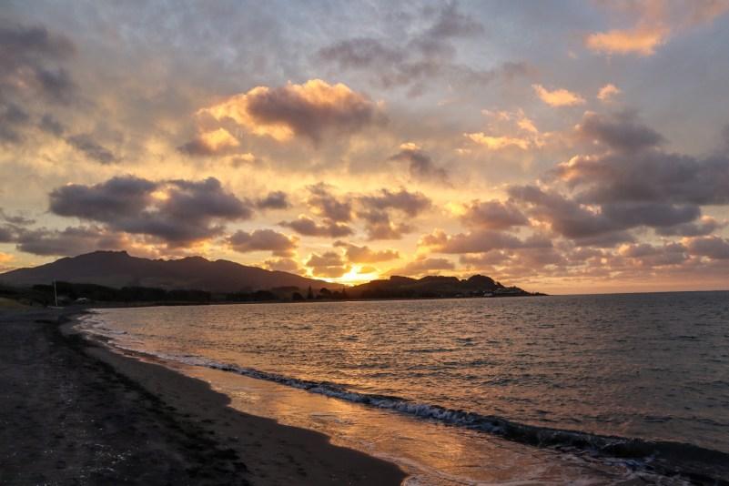 Raglan New Zealand Sunset