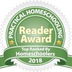 Practical Homeschooling Reader Award 2018