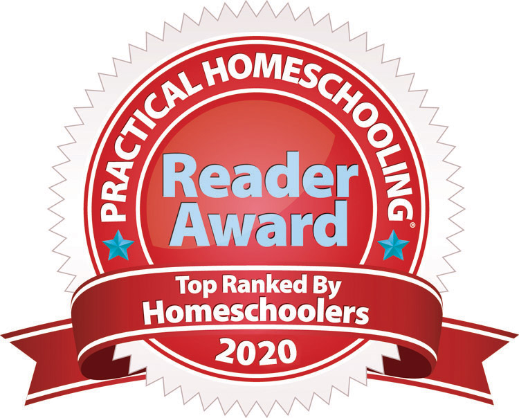 2nd Place - 2020 Practical Homeschooling Readers Awards (TM)