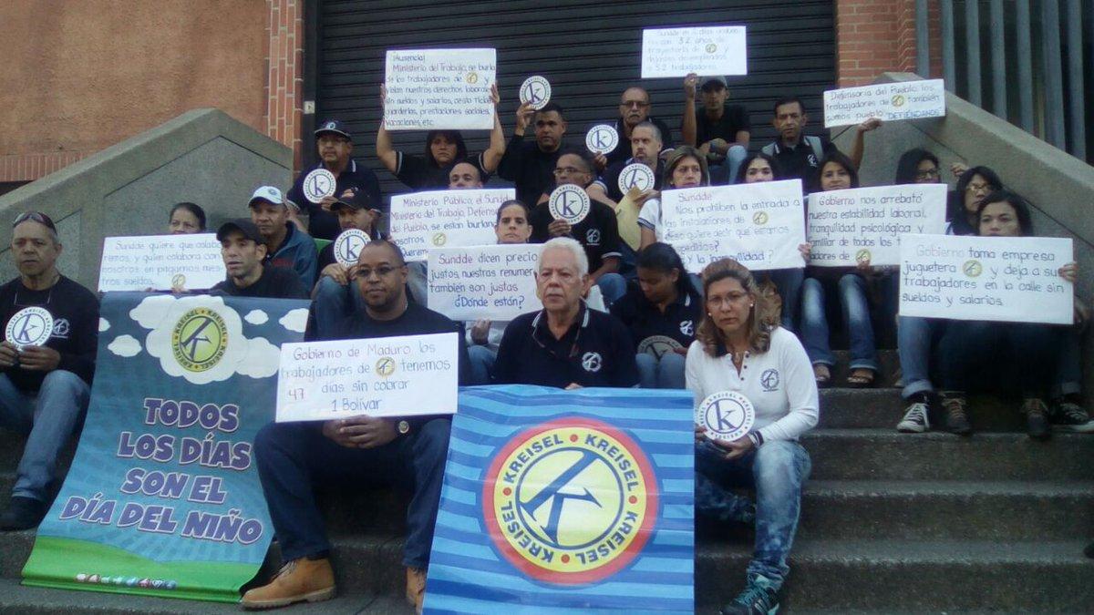 Empresa expropiada,empresa destruida Gobierno le debe 47 días de salario a trabajadores de Kreisel (1)