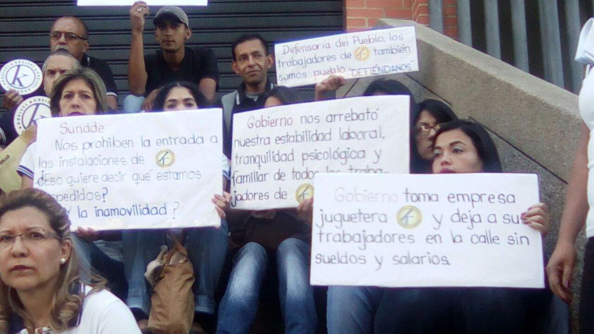 Empresa expropiada,empresa destruida Gobierno le debe 47 días de salario a trabajadores de Kreisel (2)