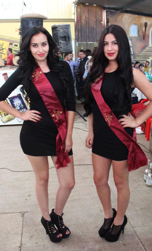 Fotogalera Edecanes de Expoferia Enero Arandas 2015