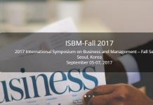 ISBM Fall conference