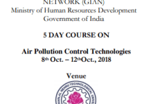 air pollution control techniques at jntuh college