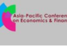 Asia Pacific Conference Economics Finance Singapore