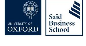 Oxford Persing Square MBA Scholarship 2019