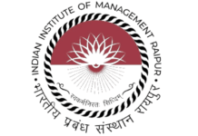 IIM Raipur Fellowship Management Admission 2019