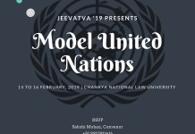 CNLU Patna Model United Nations 2019