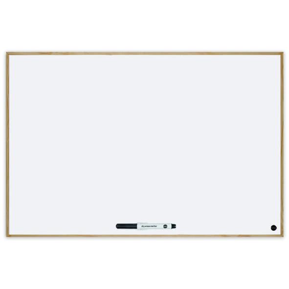Budget Wood Frame Magnetic Whiteboard
