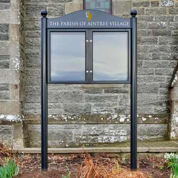Freestanding Church Notice Boards