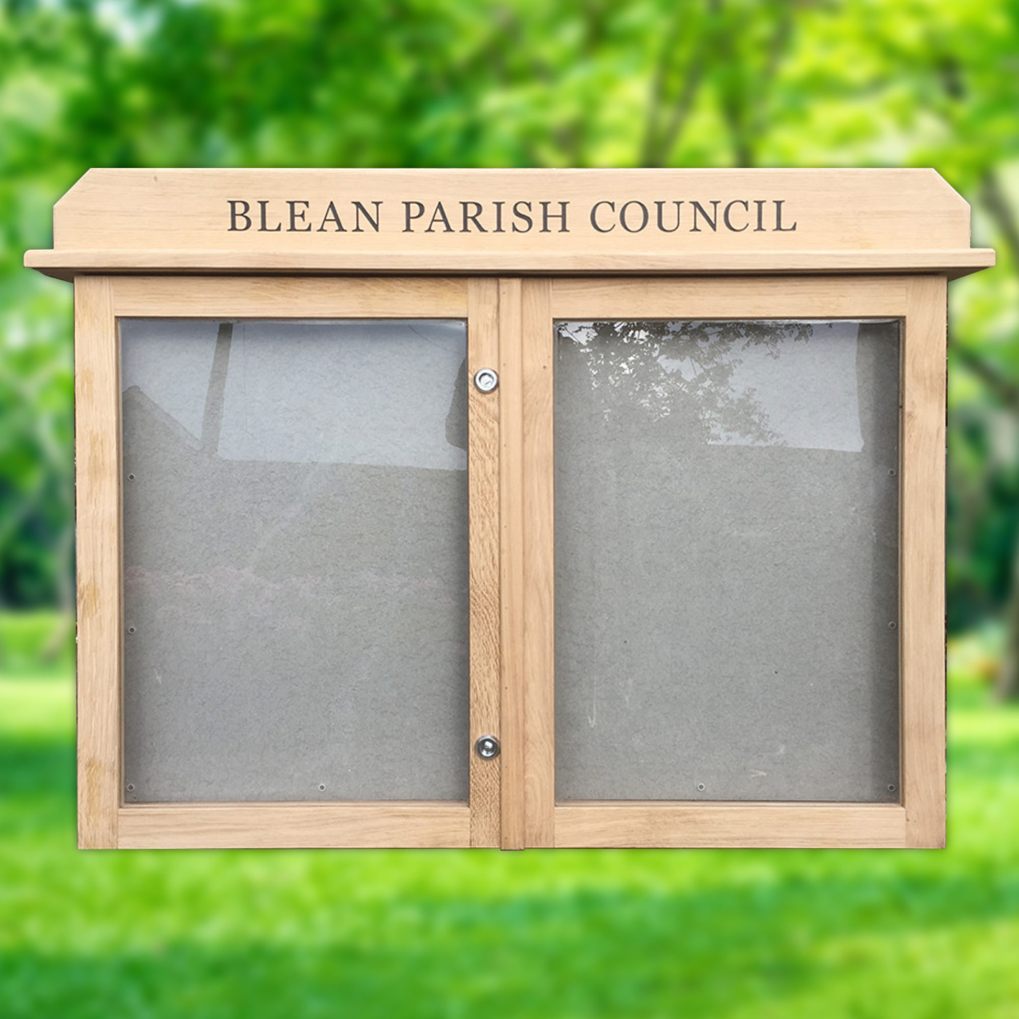 Church And Parish Council Wood Noticeboards