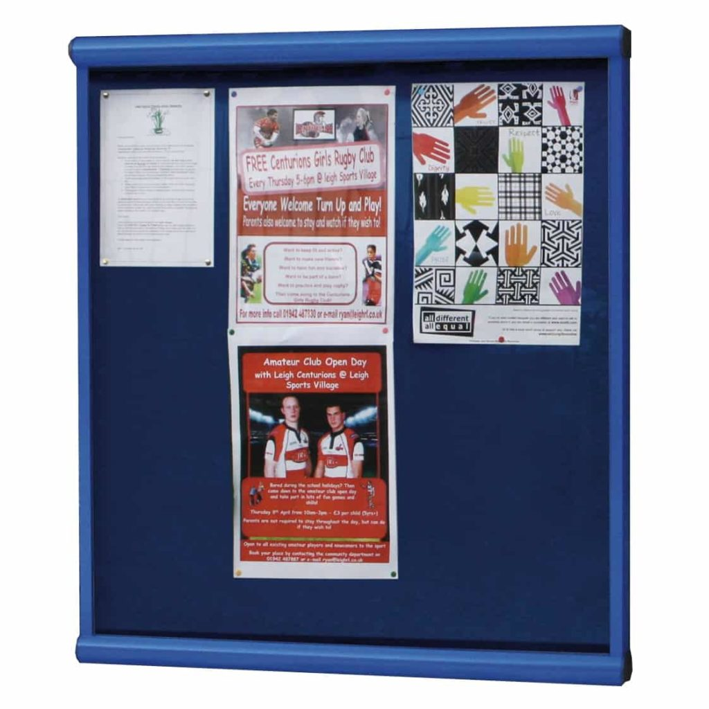 Scroll Wall Mounted Church Noticeboards