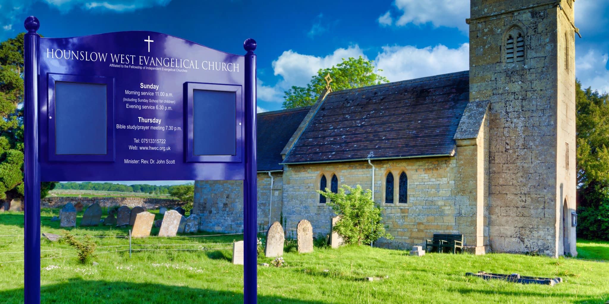 Signum Church Notice Boards