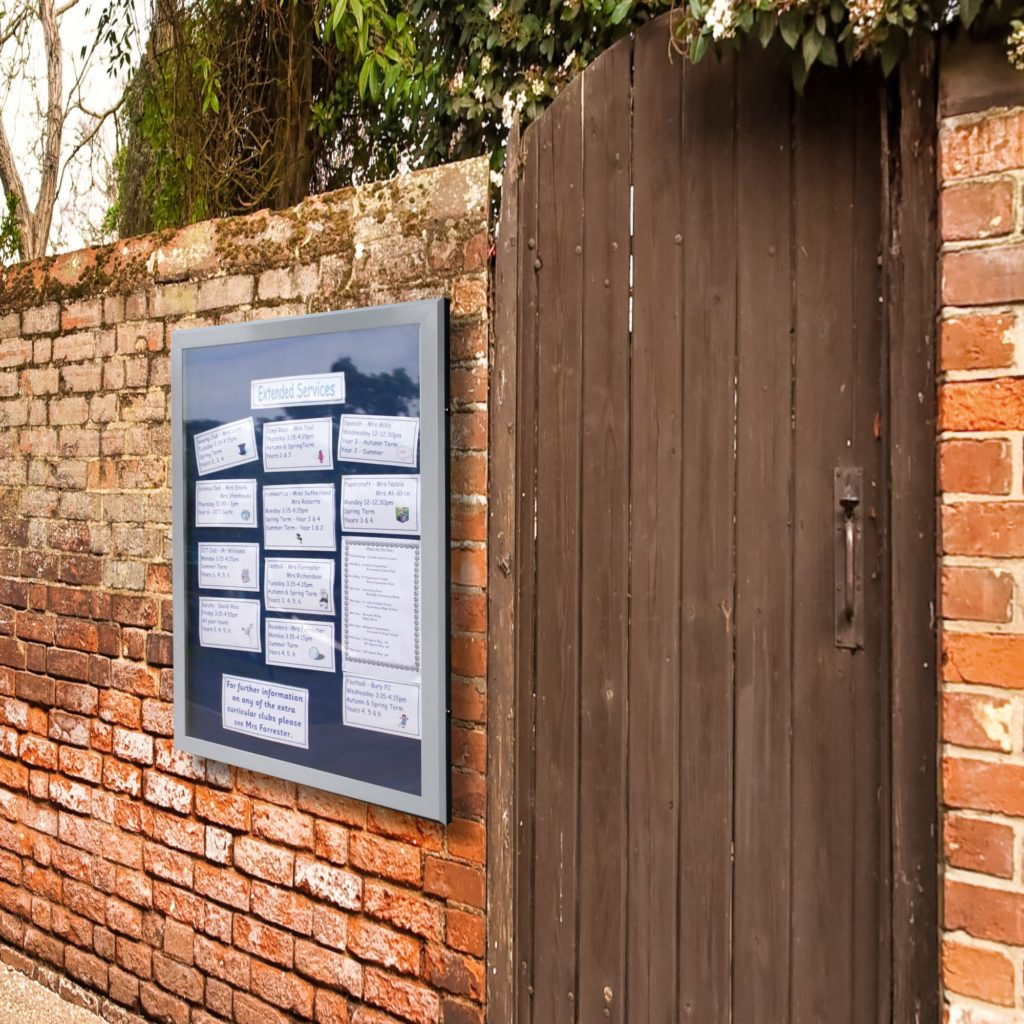 Stormguard Wall Mounted Church Noticeboards