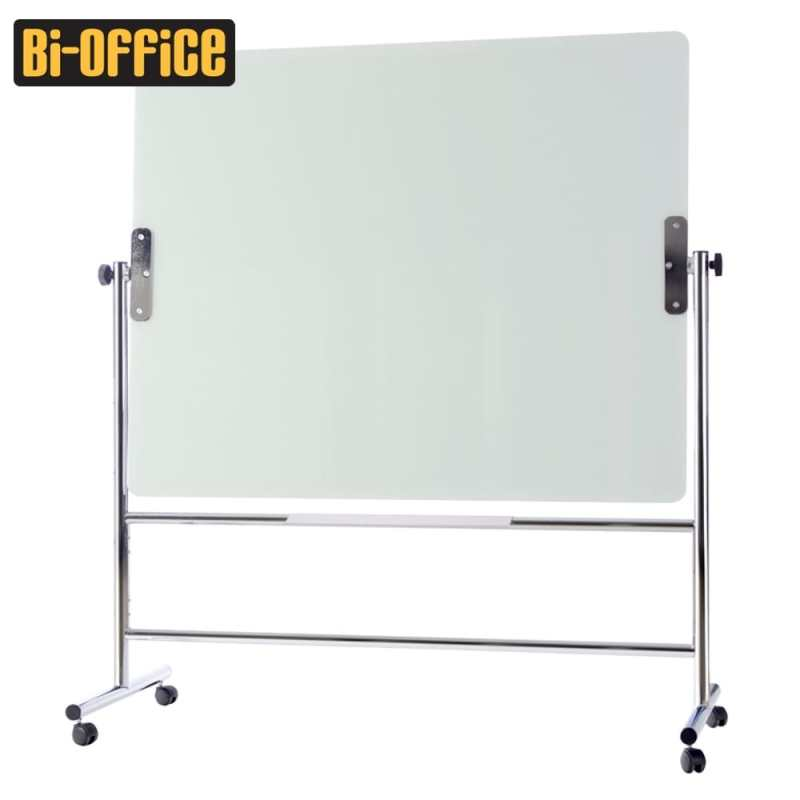 Bi-Office Mobile Glass Revolving Board