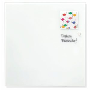 Franken Glass Board White magnetic 1200 x 1200mm