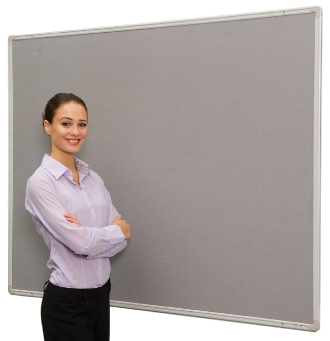 FlameShield (Class 0) Fire Retardant Aluminium Framed Notice Board