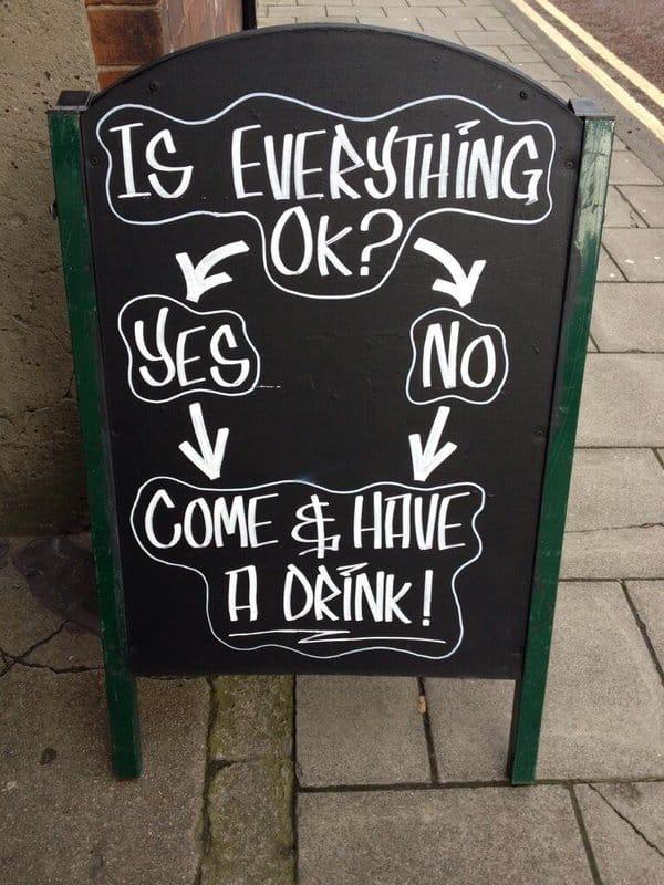 Pub Noticeboard