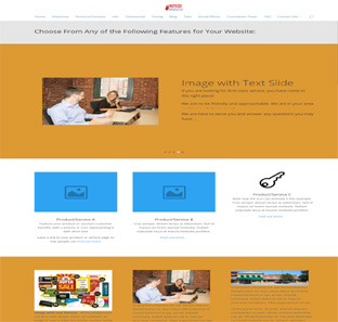 One Page Web Design and Web Design Features