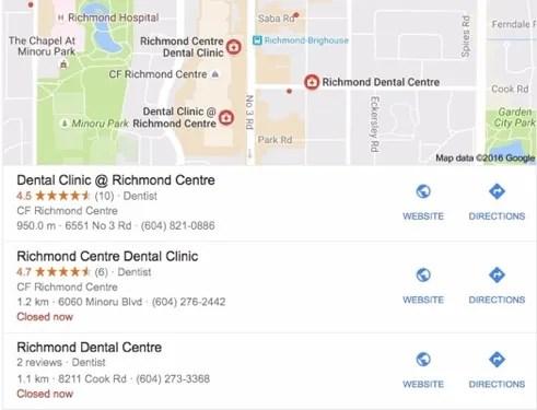 Google Maps Listing   Noticedwebsites