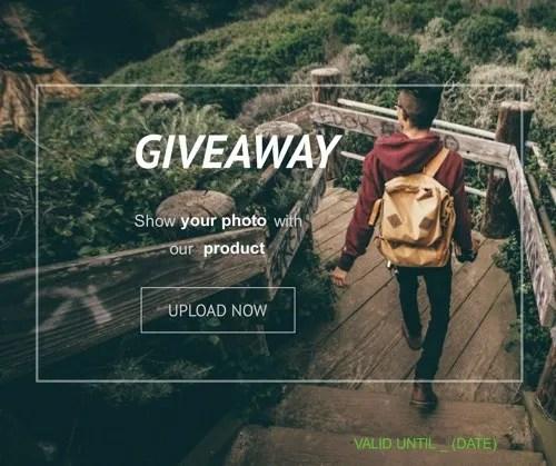 Photo Contest Post example.