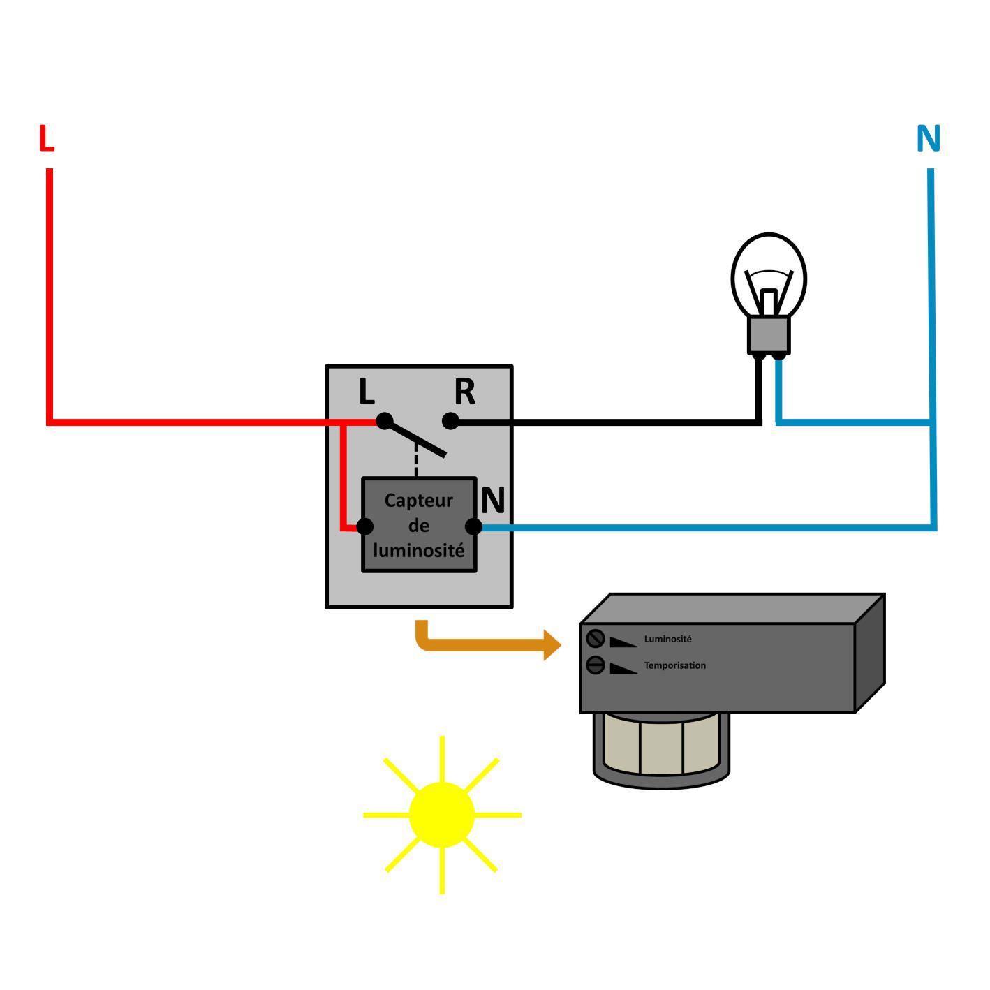 autoconstruction-détecteur de présence