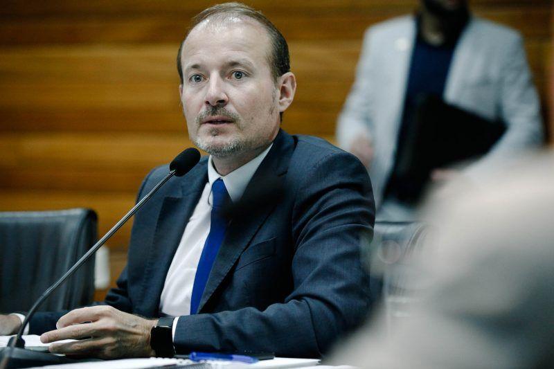 Gabriel Ribeiro de volta à Alesc, agora como comissionado