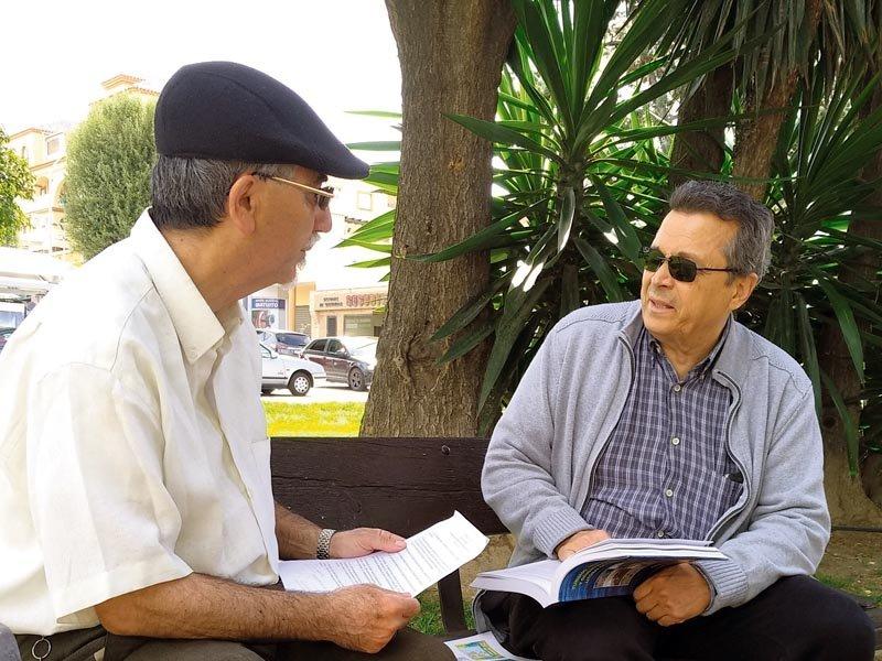 Rafael Yus y José Marcelo