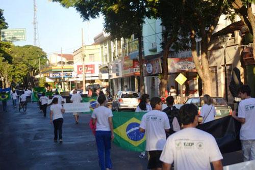 Manifestação em Guaira/PR 2