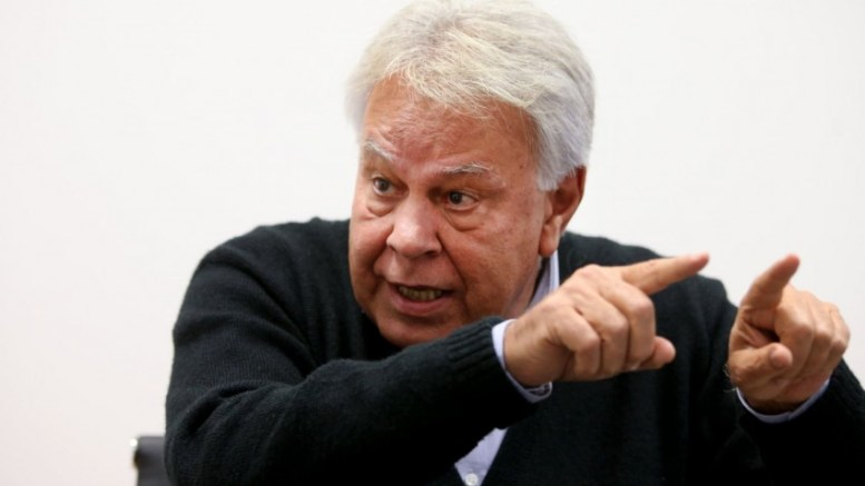 ex jefe de gobierno español felipe gonzalez