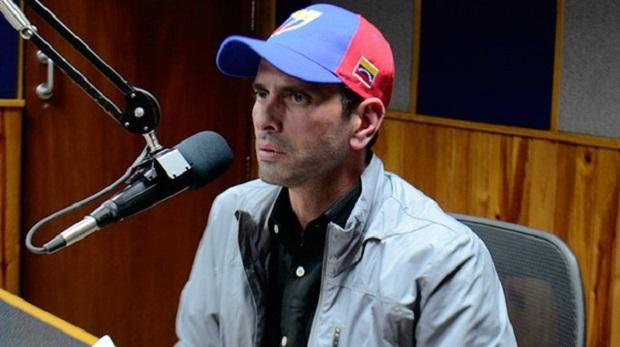 Las imágenes fuertes que publicó Capriles