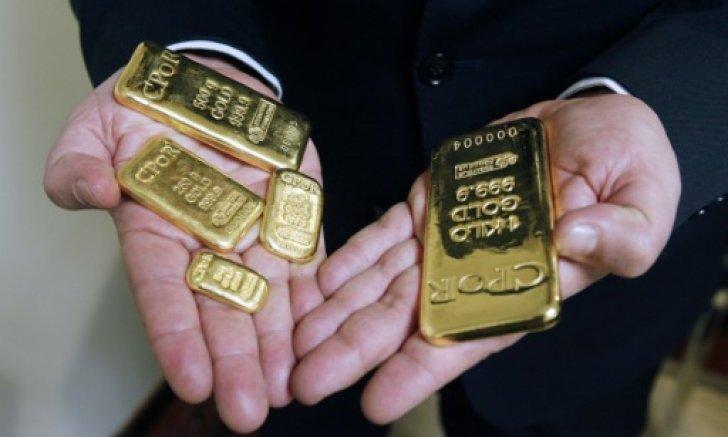 oro en placas