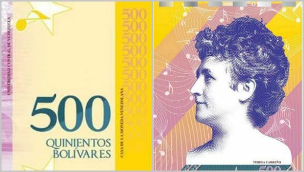 Lo que no podrás comprar con el nuevo billete de Bs. 500
