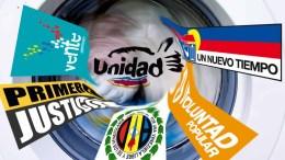 partidos banderas MUD