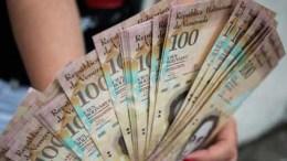 Billete de cien bolívares