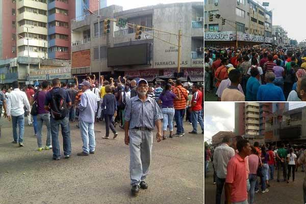 Protestas y saqueos por falta de efectivo en distintas partes del país (Imágenes)