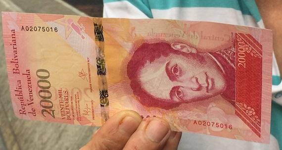 Los detalles que notaron los venezolanos en los nuevos billetes (Fotos)