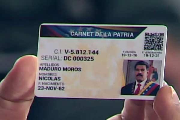 """Mira cuánto ofrece el gobierno en la """"tarjeta de la patria"""" para cerrar la AN"""