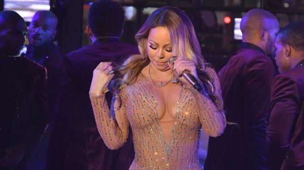 Primer papelón del 2017: La vergüenza de Mariah Carey en la fiesta de Nueva York
