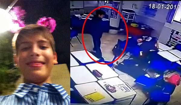 El joven que asesinó a maestra y dos compañeros anunció el ataque en Facebook (Imágenes)