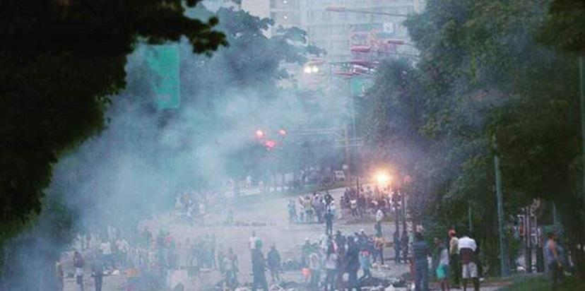La reveladora imagen de la Divina Pastora durante represión en Barquisimeto (Foto)