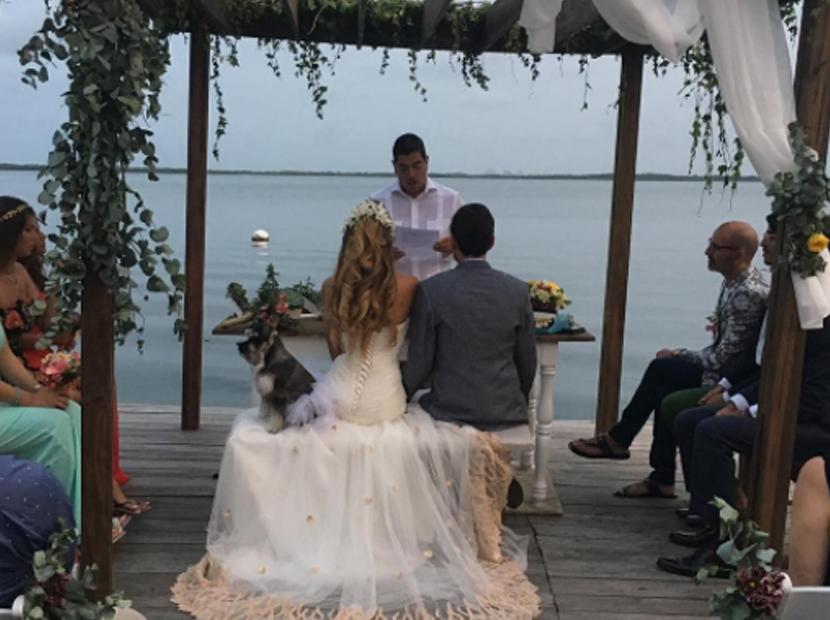 Las románticas imágenes con las que exmiss celebra su primer mes de casada con dirigente opositor