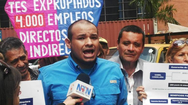 dirigente detenido carlos julio rojas