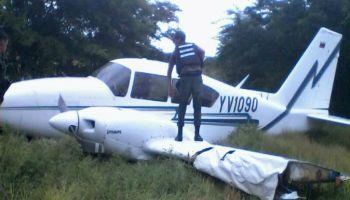 Resultado de imagen para aeronave se precipitó en el estado varga