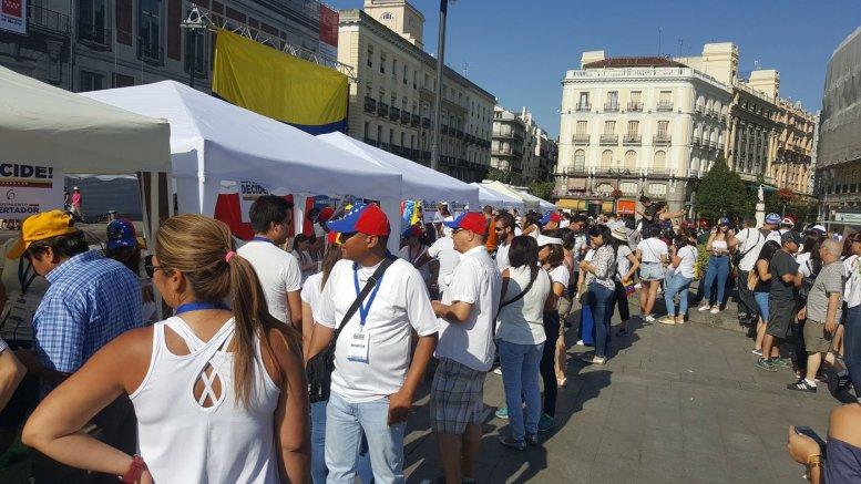 madrid consulta popular venezolanos