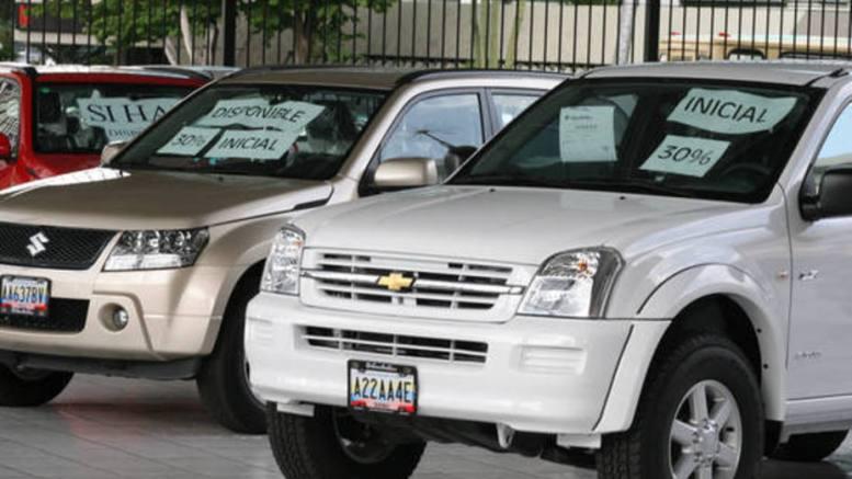 ventas de vehículos venezuela