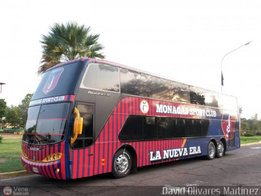 Bus del equipo Monagas Sport Club