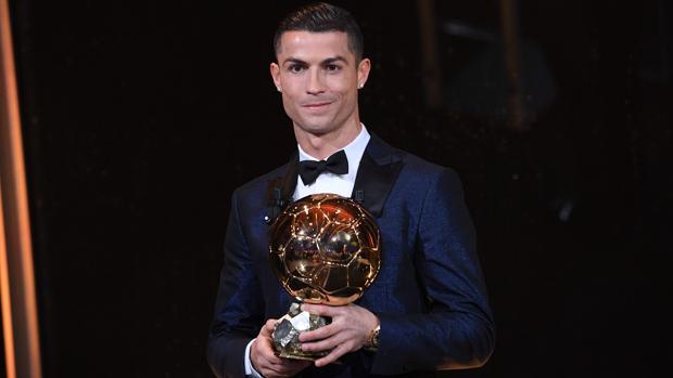 Cristiano Ronaldo gana su quinto Balón de Oro
