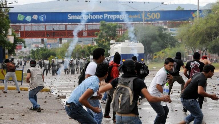 Honduras protestas ante retraso en anuncios de resultados electorales