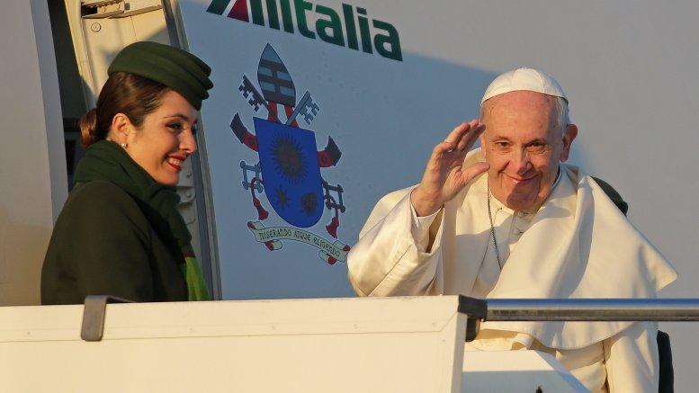 papa francisco inicia viaje a Chile